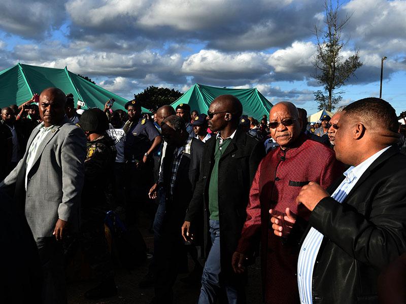 Jacob Zuma in Durban