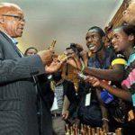 Zuma pays a visit to Muyexe village