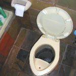 Flushing wasteful toilet technology