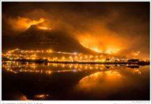 Wildfires ravage Cape Peninsula