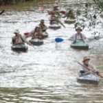Doing the Dusi - in wood and canvas canoes