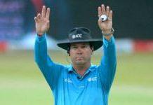 South African umpire reaches ODI half century