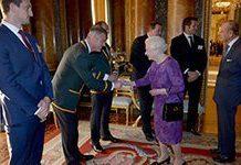 Springboks meet the queen