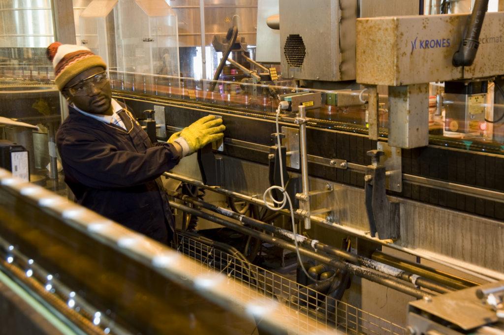 Johannesburg, Gauteng province: Alrode brewery