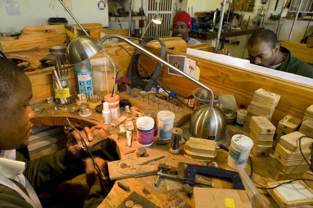 Johannesburg, Gauteng province: The Kgabane jewellery training programme