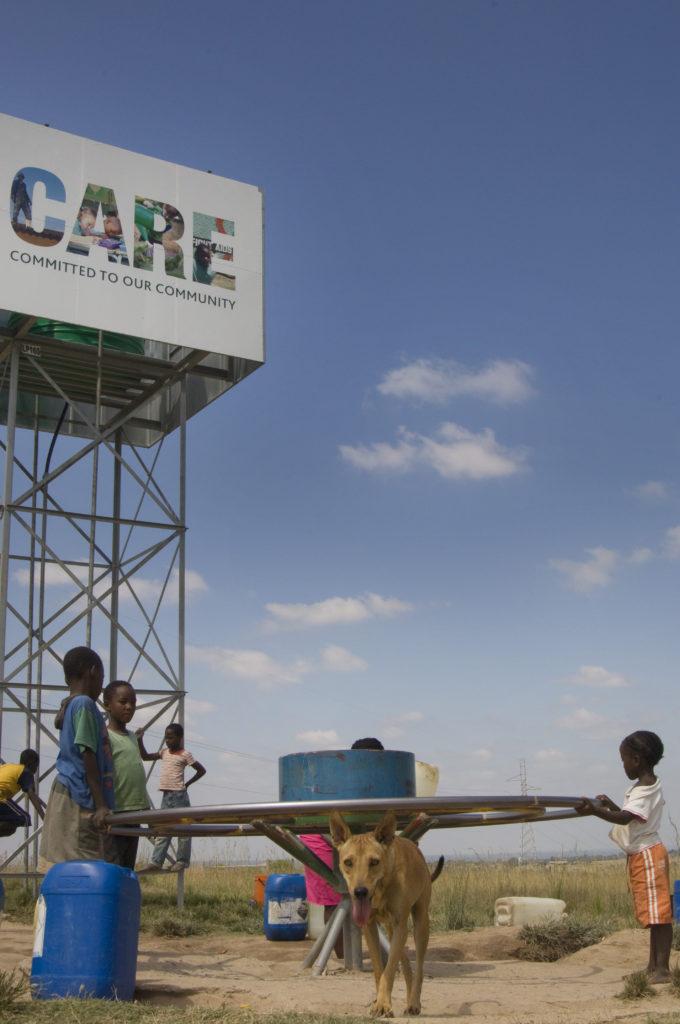 Hoedspruit, Limpopo province: A Roundabout Playpump