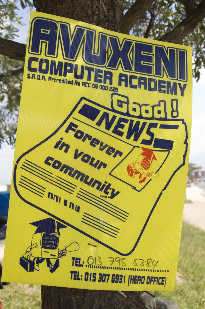 Hoedspruit, Limpopo province: Computer academy advertisement