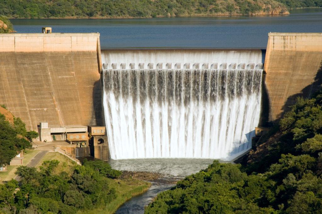 Hoedspruit, Limpopo province: Blyde River Dam wall