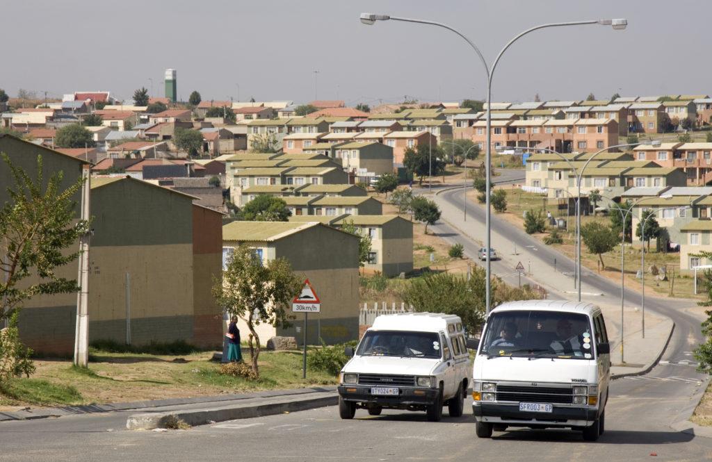 Two storey walkup housing project, Alexandra, Johannesburg