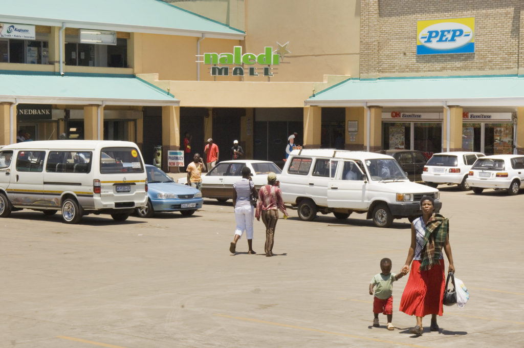 Johannesburg, Gauteng province: Naledi Mall