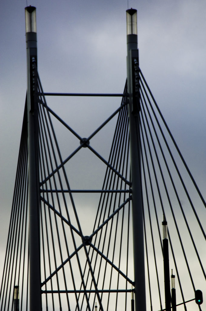 Johannesburg, Gauteng province: The Nelson Mandela Bridge