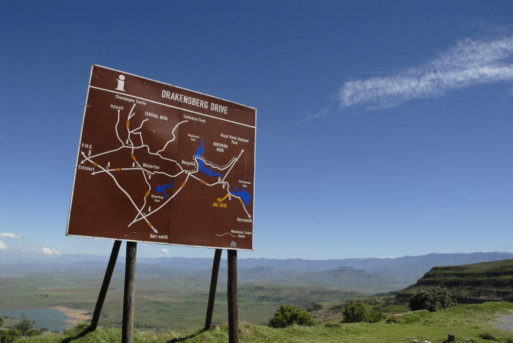 The Central Drakensberg, KwaZulu-Natal province
