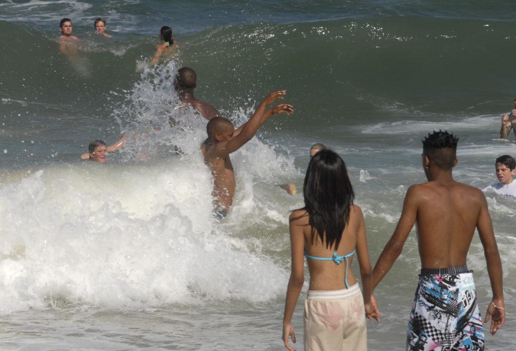 Umhlanga Rocks, KwaZulu-Natal province: Beach scene