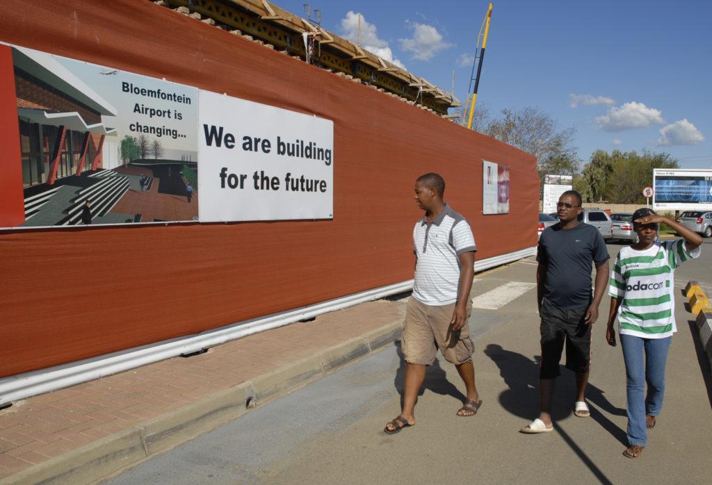 South Africa, Free State: Bloemfontein International Airport