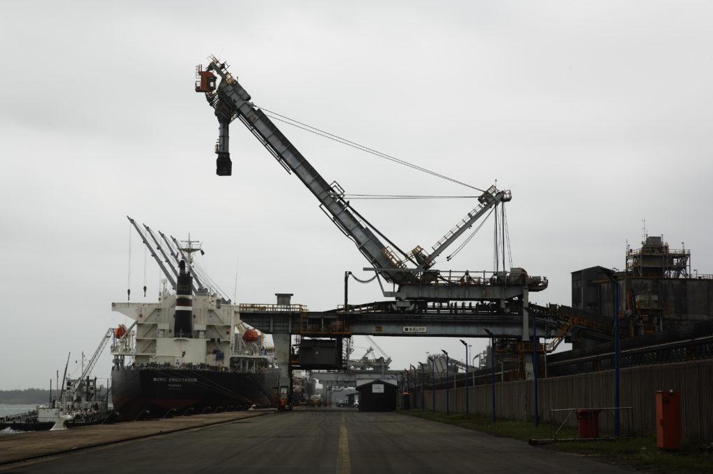 Richards Bay, KwaZulu-Natal: Coal export harbour