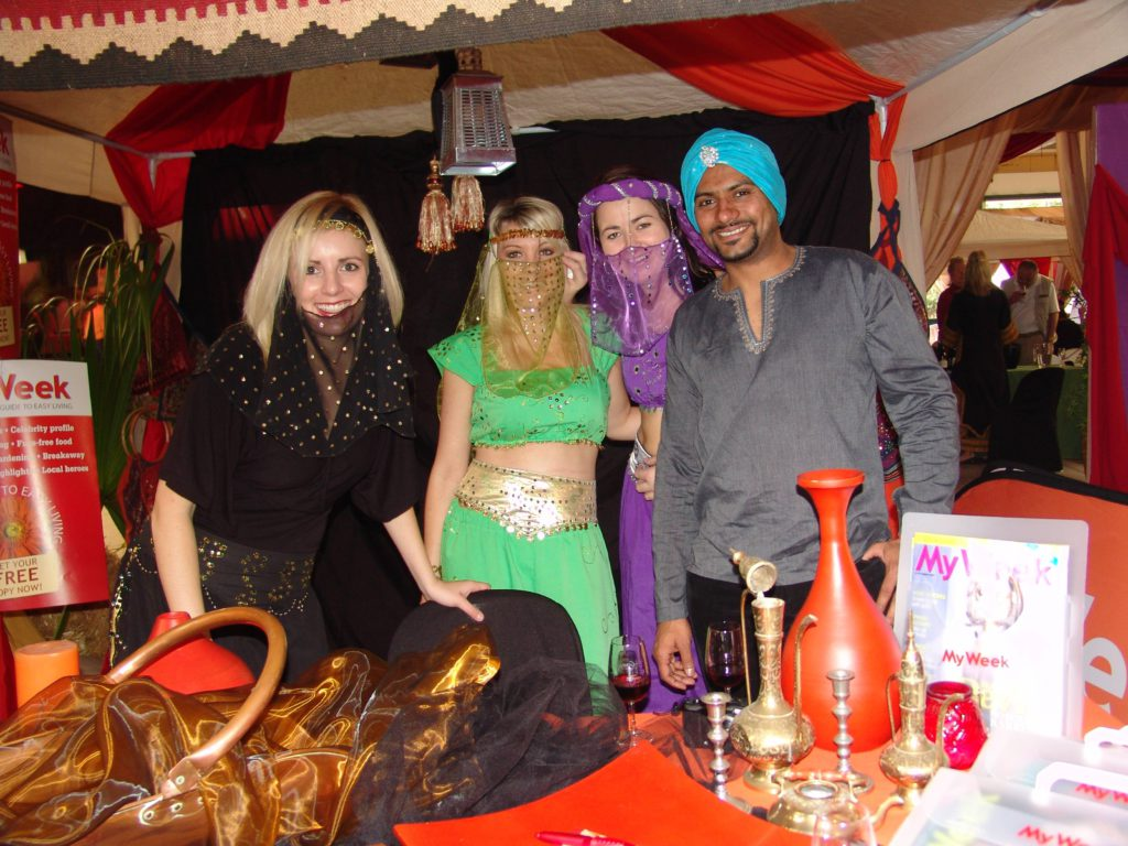 Revellers at the Shiraz Festival