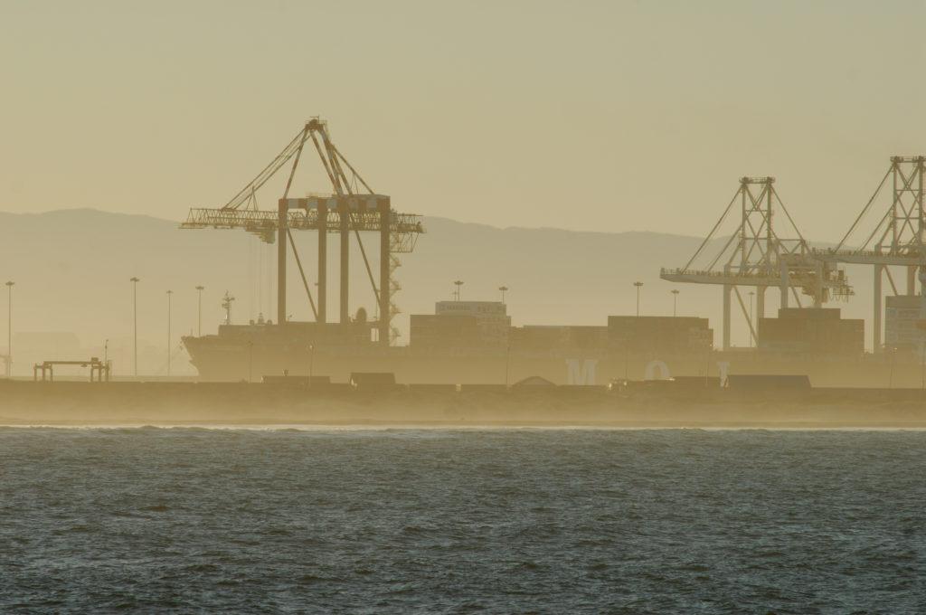 Port Elizabeth, Eastern Cape province: The harbour