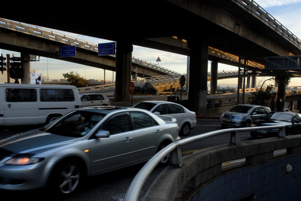 Port Elizabeth, Eastern Cape province: Early morning traffic