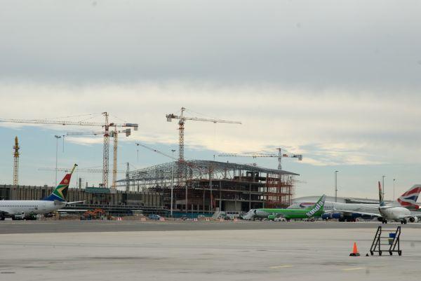 Cape Town International Airport undergoing renovations