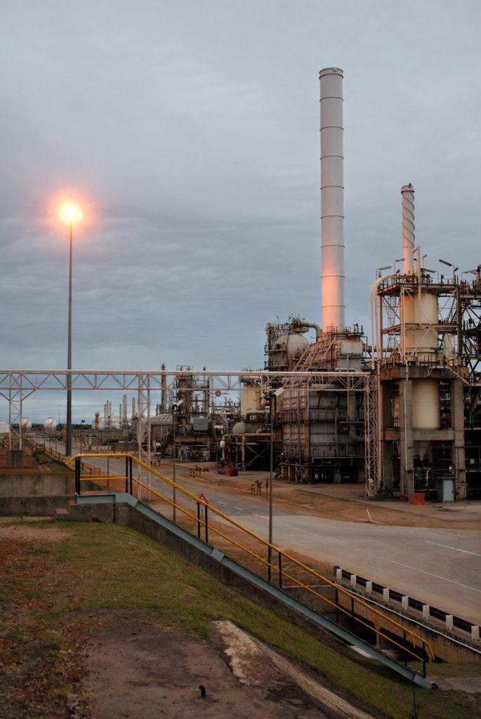 Mossel Bay, Western Cape: The PetroSA gas-to-liquids refinery