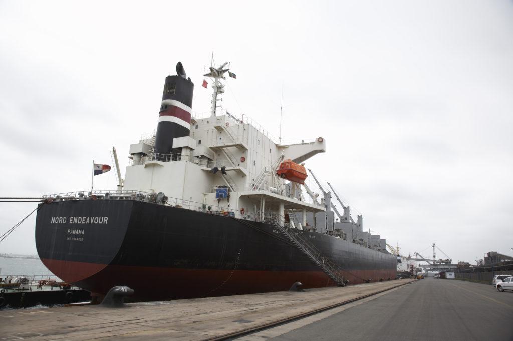 Coal Export Harbour, Richards Bay Harbour, Kwa-Zulu Natal