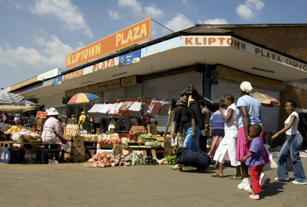 Johannesburg, Gauteng province: Shops in Kliptown, Soweto