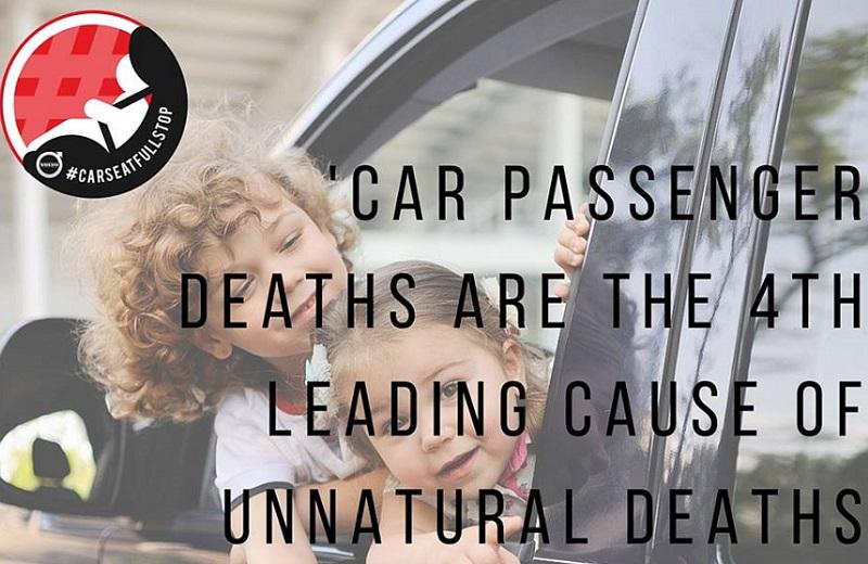 #CarseatFullstop children transport roads
