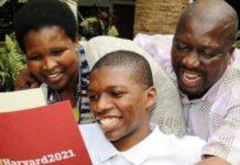 Sasasa Dlamini, Harvard University, Westville Boys' High School, education