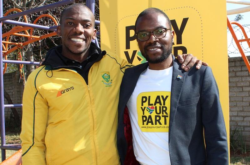 Mandela Day Tshepiso Malele Owen Mvimbi