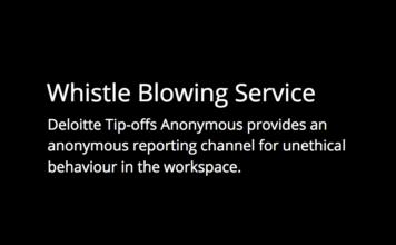 Deloitte Tip-offs Anonymous