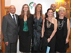 From left to right, IWW award winners Ferdinando Pezzoli, Lara Mazzoni, Debora Patta, Tiziana Grassi, Marco Folegani, and Elena Maria Teresa Calligaro.