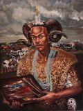 Face of Xhosa (my four fathers) by Anathi Tyawa