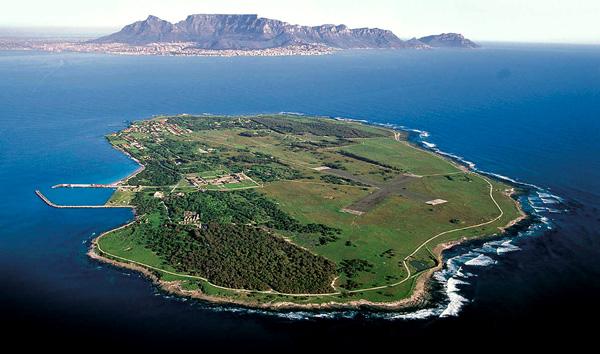 Robben Island, the prison that held Nelson Mandela