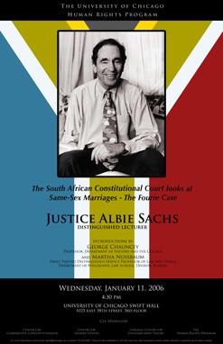 Judge Albie Sachs